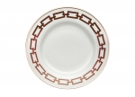 Catene Red Salad/Dessert Plate