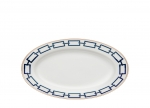 Catene Blue Oval Pickle Dish