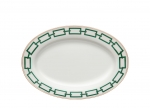 Catene Green Oval Platter