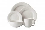 Puro Whitewash Five Piece Place Setting