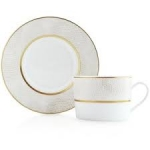Sauvage White Tea Cup Saucer
