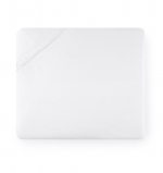 Celeste White Queen Fitted Sheet
