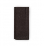 Festival Black Dinner Napkins, Set of Four