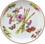 Summerlea Asparagus and Petunia Salad Plate