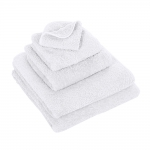 Super Pile White Bath Towel