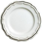 Filet Taupe Dinner Plate