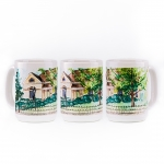 Set of Four Custom Ceramic Mugs