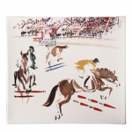 Cavalier Square Jumper Plate
