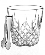 Lismore Ice Bucket wtih Tongs