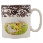 Woodland Yellow Labrador Mug
