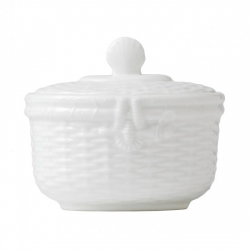 Nantucket Basket Covered Sugar