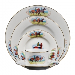 Post Parade Five Piece Place Setting